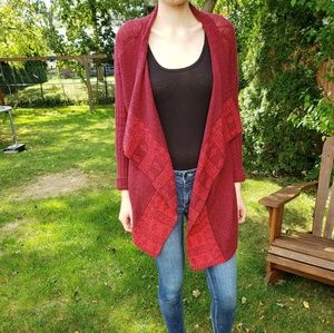 Never Worn Red Patterned Sweater